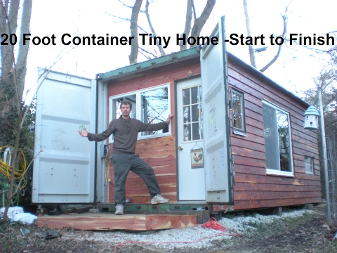 20 Foot Container Tiny Home Construction: From Start to Finish