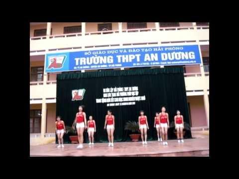 Aerobic HPU - Giao Lưu Trường THPT An Dương Hải Phòng
