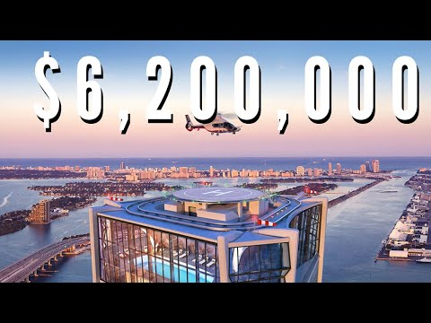 $6,200,000 HALF FLOOR CONDO IN MIAMI, FL | Walk Through Tour | Luxury Home Tours: EP3