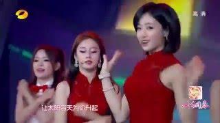 150219 T-ara - Little Apple + Bo Peep Bo Peep ○ 湖南衛視 四海同春2015華人春晚 ♥