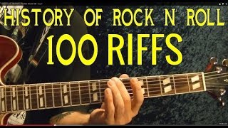 100 BEST ROCK RIFFS EVER!!