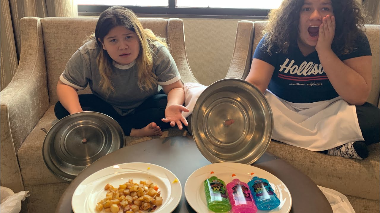 Slime Master Mary And Izzy: Don't Choose The Wrong Room Service Slime Challenge