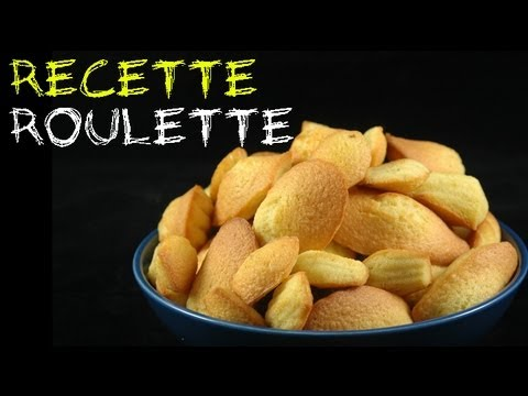 Recette : Madeleines citron