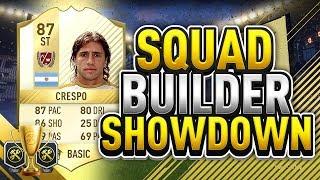 FIFA 17   LEGEND SQUAD BUILDER SHOWDOWN vs CAPGUNTOM   CEX SBSD CUP