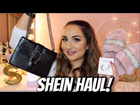 SHEIN ACCESSORIES HAUL | JEWELRY, BAGS, & SHOES! | DESIGNER HANDBAG DUPES!!