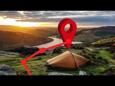 WHERE TO GO CAMPING | How To Find Great WILD CAMPING Locations