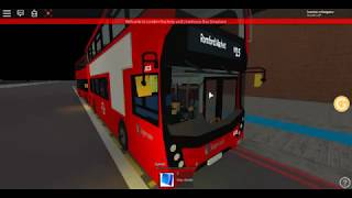 Roblox London Hackney & Limehouse bus Simulator E400MMC SLN Fleet 10328 First Night Bus on Route N15
