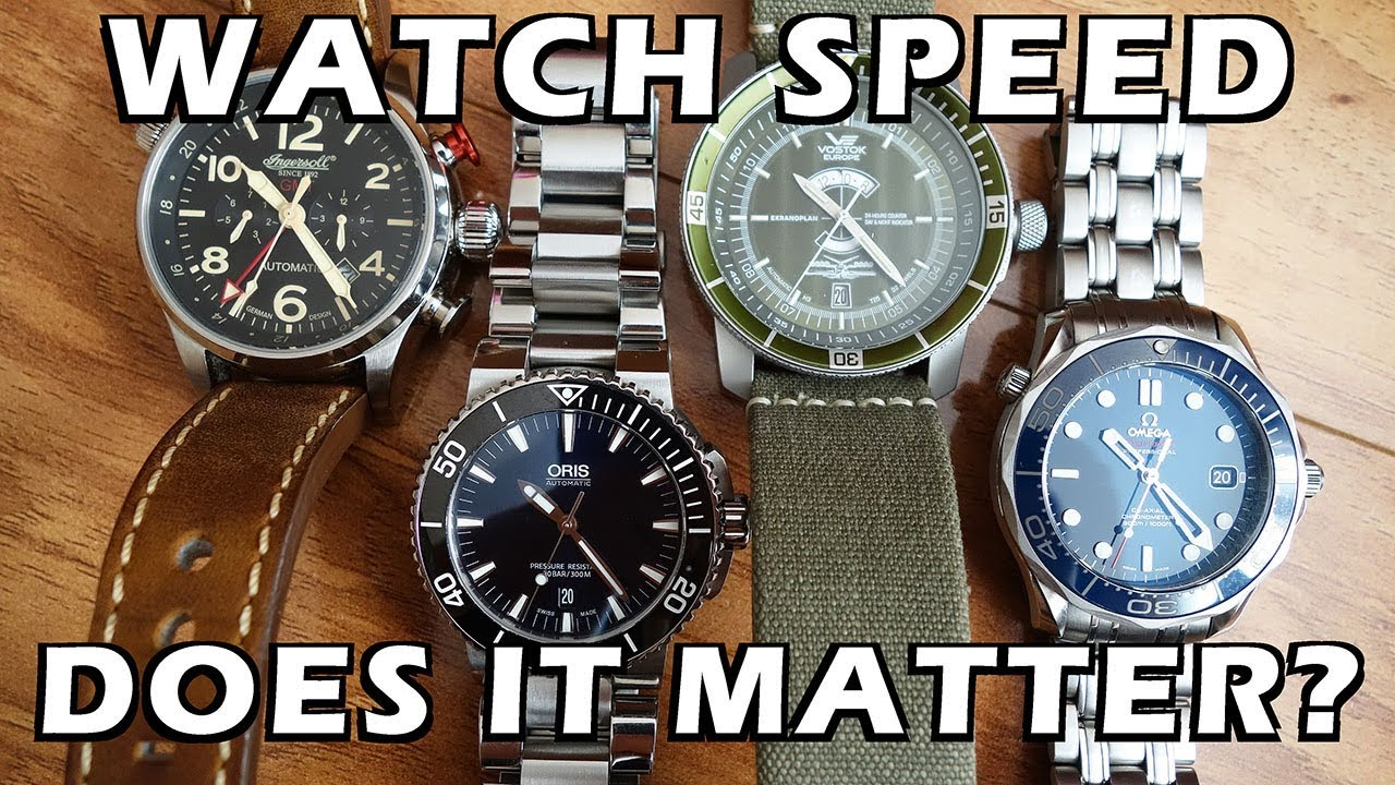 Watch Movement Speed - Does it matter? Exploring 19,800 to 28,800 bph -  Perth WAtch #84