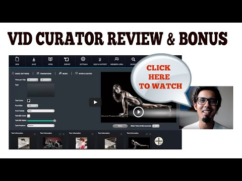My Real Vid Curator FX Review