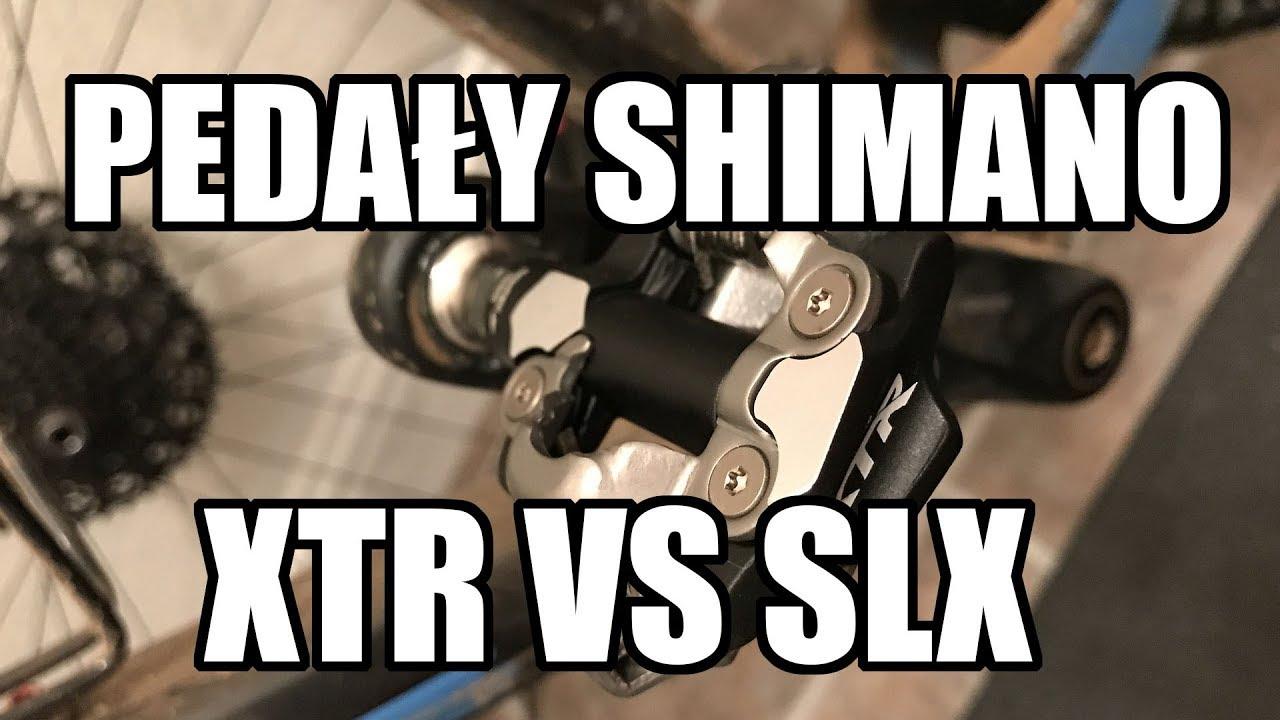 Pedały Shimano XTR M9000 vs SLX M540 // Rowerowe Porady