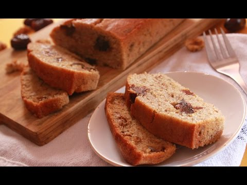 healthy-banana-walnut-and-dates-cake-||-wheat-flour-cake