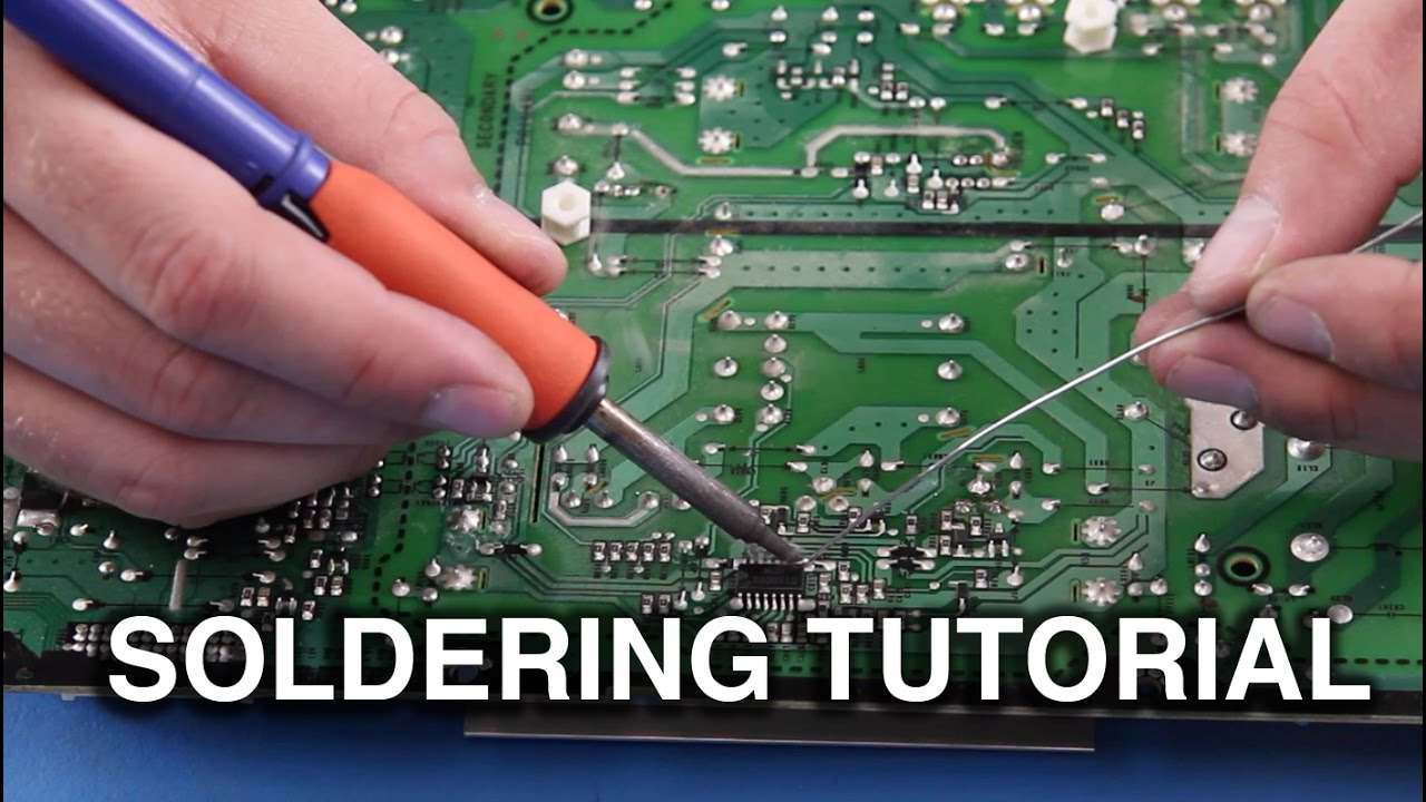 How To Solder Beginner Guide Soldering Components On Tv Parts Details About Educational Electronics Circuit Starter Kit Manual