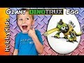 Giant DINOTRUX Surprise Egg