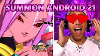 3 FAKE OUT = 3 TIER Z SUMMON ANDROID 21 DO DRAGON BALL FIGHTER Z - DRAGON BALL LEGENDS