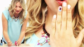 DIY Nail Stickers with Gracie Dzienny #17Daily