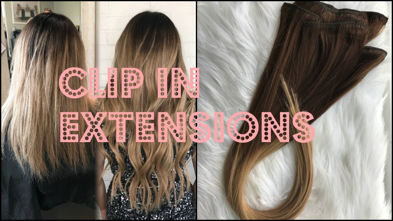 Styles For Hair Extensions: HOW TO INSTALL CLIP IN EXTENSIONS