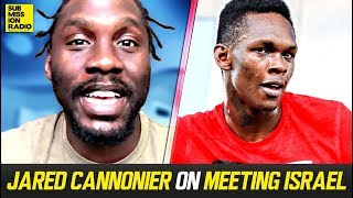 Jared Cannonier Describes Meeting Israel Adesanya For First Time
