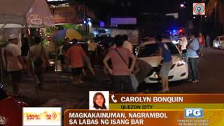 WATCH: Youths rumble outside QC bar