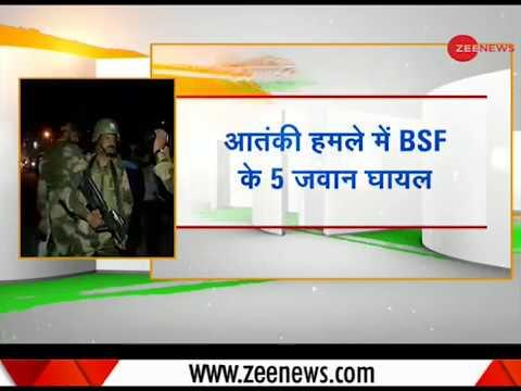 Five BSF jawans injured in terrorist attack near Pantha Chowk in Srinagar