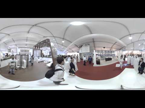 Dubai Maritime City Authority (DMCA) 360 Degree Video at Boat Show