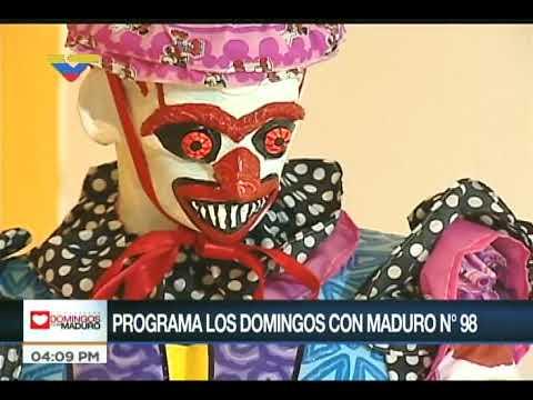 Inauguran II Bienal del Sur: Ministro Villegas interactúa con el Pdte Maduro