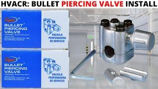 Bullet Piercing Valve Line Tap BPV31 HVAC Seal A//C Refrigerator Portable Practic
