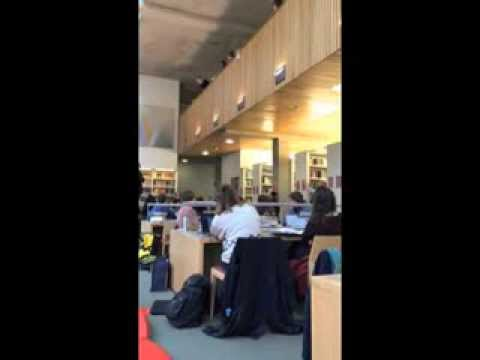 Romeo and Juliet turned up at the English Faculty Library