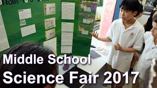 Middle School Science Fair 2017