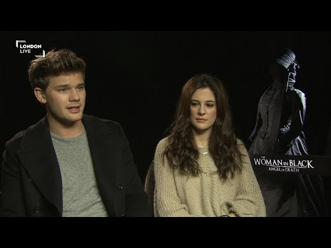 Jeremy Irvine and Phoebe Fox on 'creepy' Woman In Black, Angel of Death
