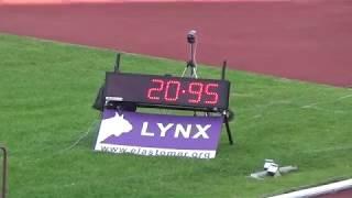 Мемориал братьев Знаменских, бег 200 метров мужчины