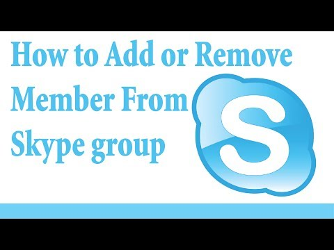 How To Add Or Remove Member From Skype Groups In 2017 (easy Tutorial)
