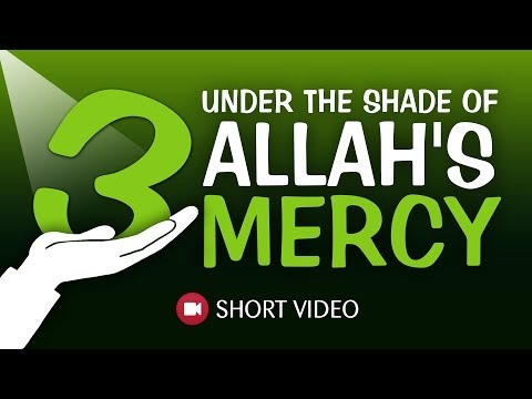 3 Under The Shade Of Allah's Mercy ᴴᴰ ┇ #Hadith ┇ Islamic Short Video ┇ TDR Production ┇