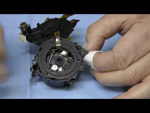 How to strip and clean a Panasonic Lumix TZ series lens   with warnings!!!