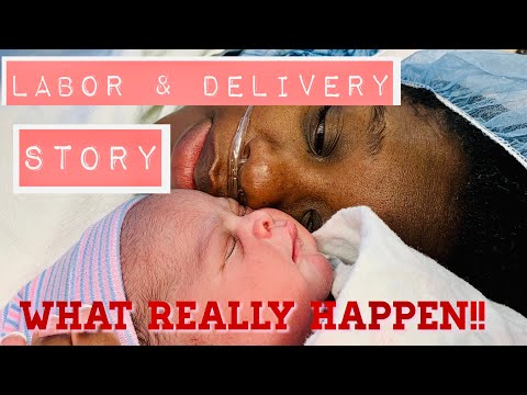 LABOR & DELIVERY STORY || WHAT REALLY WENT DOWN !!!