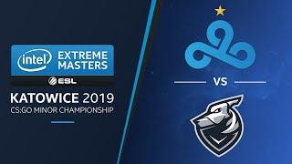 CS:GO - Grayhound vs. Cloud9 [Mirage] Swiss Round 1 - Challengers Stage - IEM Katowice 2019