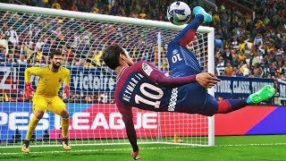 PES 2018 - Neymar Goals & Skills HD