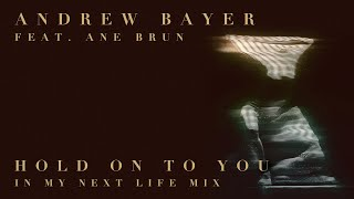 Andrew Bayer feat. Ane Brun - Hold On To You (In My Next Life Mix)