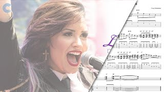 Alto Saxophone - Let it Go - Demi Lovato - Sheet Music, Chords, & Vocals