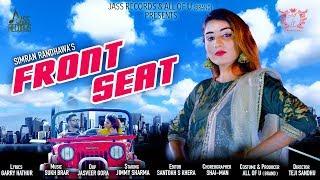 Front Seat | (Full HD) | Simran Randhawa | New Punjabi Songs | 2019 | Latest Punjabi Songs 2019