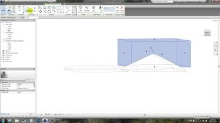 Revit Tips - mansard roof with clean joint