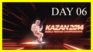 Kazan 2014 World Fencing Championships - Day06 Session 01 - Piste Yellow