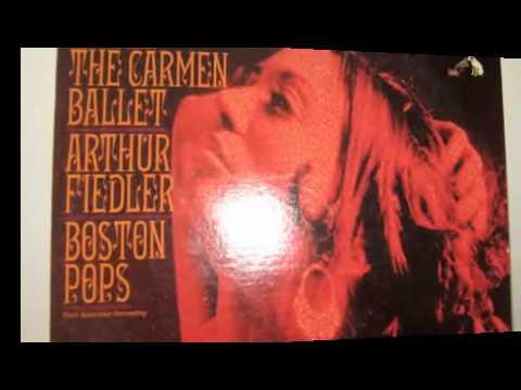 BIZET- CARMEN FANTASY -  ARTHUR FIEDLER & BOSTON POPS SYMPHONY.