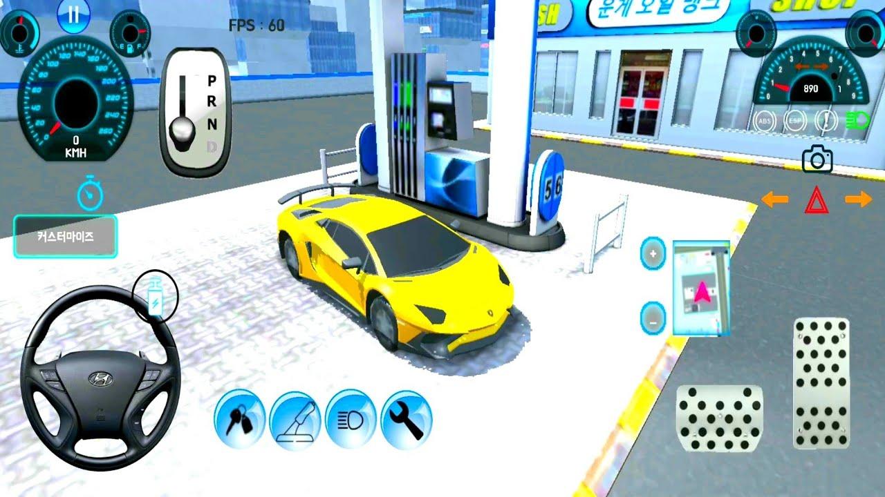 العاب سيارات فئة القيادة الكورية 3# - ألعاب أندرويد 2020 - العاب سيارات