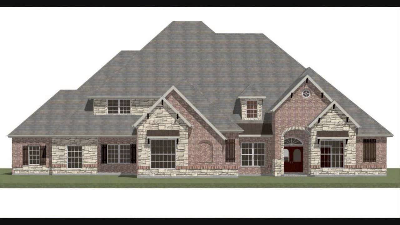 Houston Home Designer Lake Conroe House Plans Texas Floor Plans   YouTube