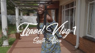 TRAVEL VLOG 1 : South Africa + Trying South African Snacks