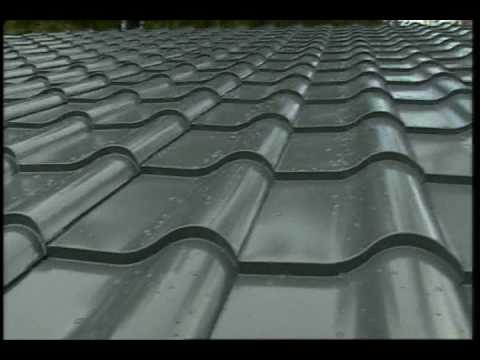 FUSA Metal Roof Tile Panel Machine Concealed Fixing - YouTube