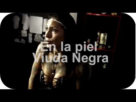 ▶ En la piel   Viuda Negra  Inside in your SKIN Black Widow Tattoo Costa Rica