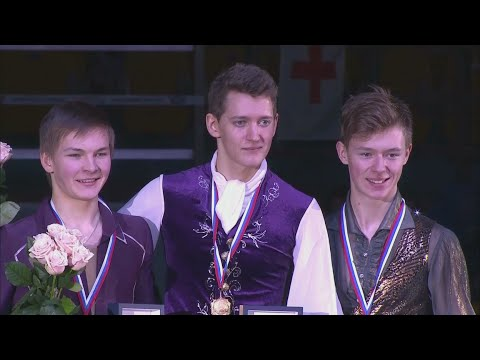 2016 Russian Nationals - Medal Victory ceremony all