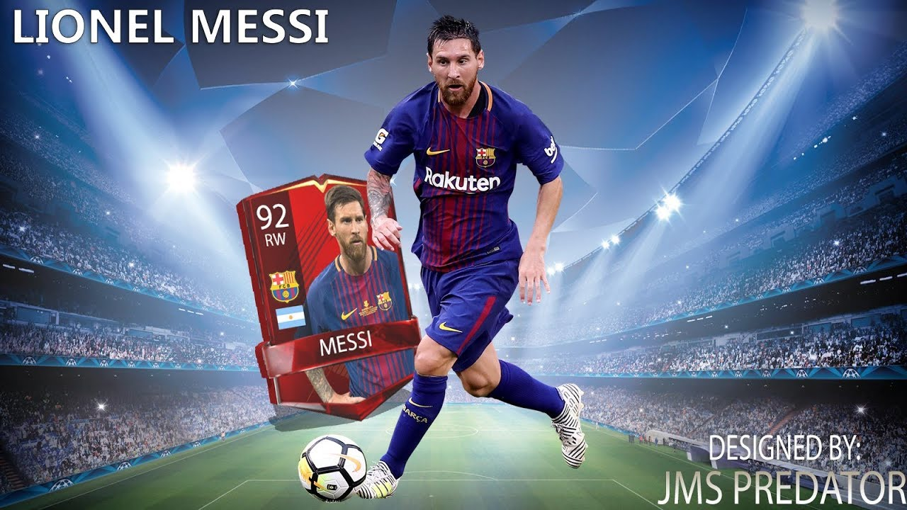 Fifa  Mobile Lionel Messi Speedart