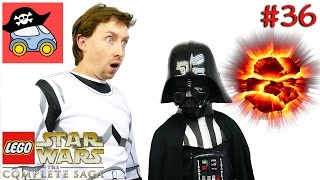 👽 #36 НА ЗВЕЗДУ СМЕРТИ. Lego Star Wars The Complete Saga. Возвращение Джедая — Жестянка